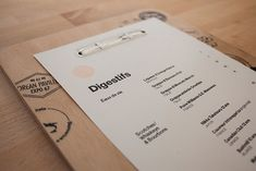 Beautiful Restaurant and Coffee Shop Menus | Projet 67