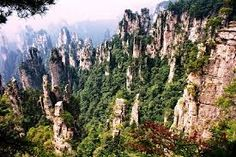 tianzi mountains china - Google zoeken