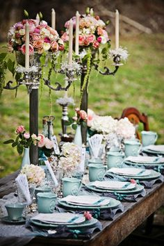 Tablescapes - Atelier Cecilia Rosslee: INSPIRATION