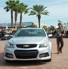 2014 Chevrolet SS: Performance Sedan with Racing DNA; Jeff Gordon Helps Unveil Street Car at Daytona