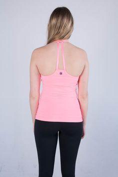 Zobha's Lorena Solid Tank in Pink #activewear #tank #pink #fashion