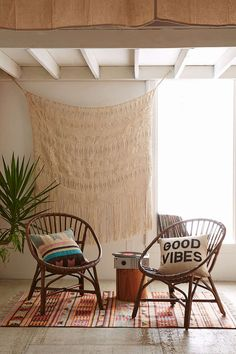 Satie Rattan Chair - Urban Outfitters