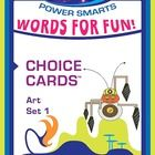 Power-Up your classroom with BYTES Power Smarts!  Challenge your students with these 26 interesting art words and 10 Activity Choice Cards to use with the words.