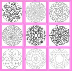 Back pocket reference to avoid scrambling for inspirations to do Rangolis. Rangoli Patterns, Rangoli Designs, Art Patterns, Hindu New Year, Indian Project, Diwali Festival Of Lights, Primary School Art, Chinese New Year Activities, Diwali Rangoli