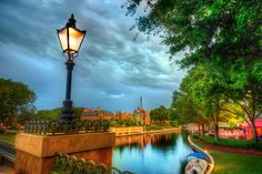 The French Quarter at Disney World. -- Stuck in Customs