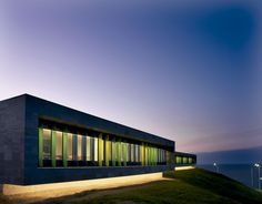 Díaz y Díaz. Kindergarten in Los Rosales, A Coruña. School architecture. Facade. Landscape integration