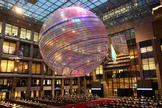 FR presidency (2008 H2) - Justus Lipsius: Entrance installation by Dubuisson Architectes