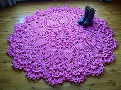 Pineapple Song Crochet Doily Pattern