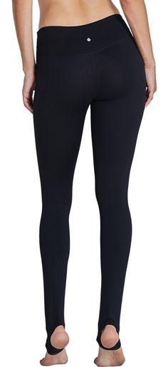 223ba882eb KomPrexx Womens Yoga Pants Stirrup Leggings With Pockets Exercise Fitness  Gym Tights Activewear 14KBlackXL --