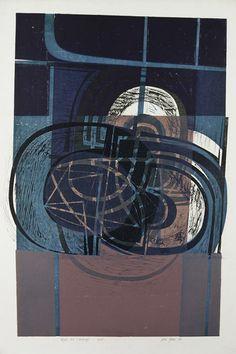 Peter Green OBE -Night Pool Landscape- The Scottish Gallery, Edinburgh - Contemporary Art Since 1842