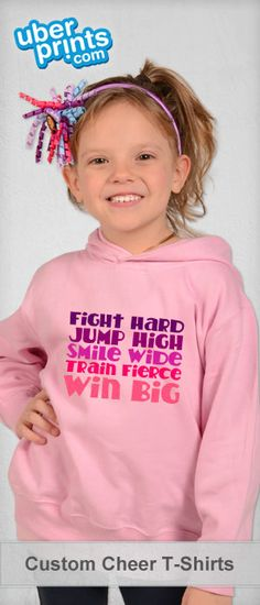Create custom cheerleading t-shirts, tanks, hoodies, and more for you or your squad. Cheerleading Shirts, Cheer Stunts, Cheer Gifts, Cheer Mom, Cheer Quotes, Painted Jeans, Team Mom, Cute Designs, Shirt Designs