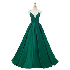 2019 Royal Blue Satin Evening Dresses Long Dress V-neck Prom Reflective Dress Aliexprss Evening Dress Open Back Robe De Soiree(China) Simple Prom Dress, Unique Prom Dresses, A Line Prom Dresses, Dance Dresses, Evening Dresses, Green Prom Dresses, Party Dresses, Ladies Dresses, Dusty Pink Bridesmaid Dresses