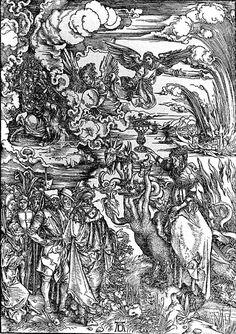 The Whore of Baylon (1497-1498) - Albrecht Durer