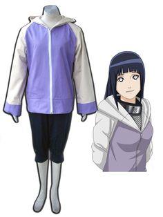 Naruto Hyuga Hinata Cosplay Costume 2nd - Merpher.L