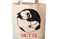 Take your love of MUTTS with you everywhere you go! These 100% organic cotton, eco-friendly tote bags feature a beautiful Earl and Mooch yin yang design with warm red type. Use it for school, work, ...