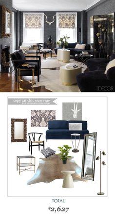 #CopyCatChicRoomRedo #ElleDecor | Get the look for only $2627