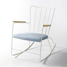 i want a rocking chair! <3 Home Furniture, Furniture Design, Home Living Room, Decoration, Contemporary Design, Modern Design, Upholstery, Interior Design, Home Decor
