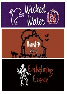Kid Friendly Halloween Drink Labels | Centsational Girl