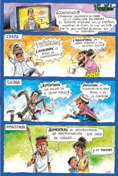 Humor Verde, de Guido Chaves, revista Ecuador Terra Incognita. http://www.terraecuador.net/contenido.html