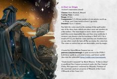 Dungeons And Dragons Game, Dungeons And Dragons Homebrew, Magic Spells, Wiccan Spells, Dark Souls 2, Dnd Classes, Dragon Rpg, Dnd Monsters, Wizards Of The Coast