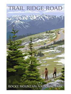 Rocky Mountain National Park ~ Trail Ridge Road