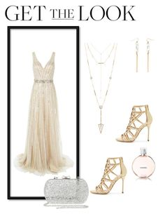"""Get the Look: Met Gala 2016"" by kayearnold on Polyvore featuring Jovani, Sergio Rossi, House of Harlow 1960, claire's, Chanel, GetTheLook and MetGala"