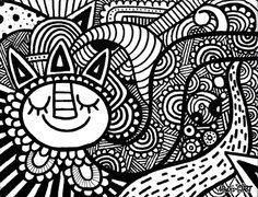 noahs art, doodles