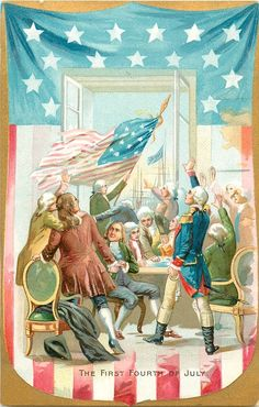 THE FIRST FOURTH OF JULY.