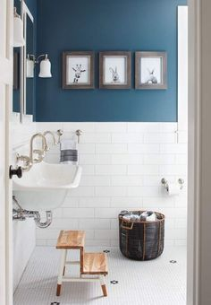 119 Best Blue Bathrooms Images
