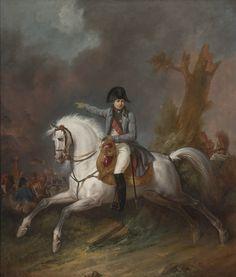 Portrait équestre de Napoléon 1er - Carle Vernet