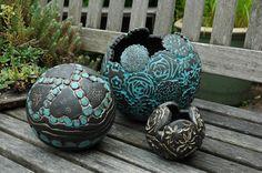 Gartenkeramik http://de.dawanda.com/shop/Kunst-und-Keramik