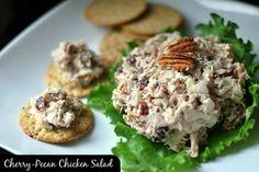 Cherry chicken salad