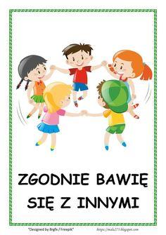 BLOG EDUKACYJNY DLA DZIECI Learn Polish, Teacher Inspiration, Paper Crafts For Kids, Back To School, Kindergarten, Preschool, Classroom, Education, Learning