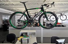 Behind the scenes at Cervelo. Ryder Hesjedal rode one of these to win the 2012 Giro D'Italia.