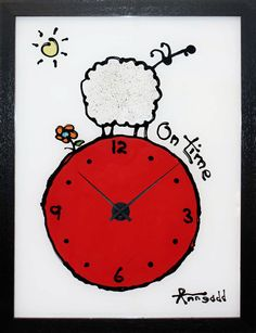 Art gallery of sheep ewe paintings for sale by Ann Gadd Sheep Art, Time Clock, Abstract Canvas Art, Paintings For Sale, Contemporary Art, Ann, Art Pieces, Art Gallery, African