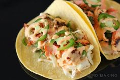 Salmon Tacos with Ci