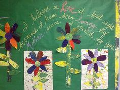 Mothers Day Bulletin Board Display Grade 1