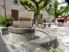 Well in a Place,Duras, Lot et Garonne, dept 47.
