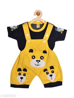 Oneseis & Rompers Prity Girls Jumpsuit   Cotton  Printed Fabric: Cotton Sleeve Length: Short Sleeves Pattern: Printed Multipack: 1 Sizes:  6-12 Months (Bust Size: 19 in Length Size: 15 in Waist Size: 16 in)  12-18 Months (Bust Size: 20 in Length Size: 16 in Waist Size: 18 in)  18-24 Months (Bust Size: 21 in Length Size: 17 in Waist Size: 20 in) Country of Origin: India Sizes Available: 3-6 Months, 6-9 Months, 6-12 Months, 9-12 Months, 12-18 Months, 18-24 Months, 1-2 Years *Proof of Safe Delivery! Click to know on Safety Standards of Delivery Partners- https://ltl.sh/y_nZrAV3  Catalog Rating: ★4.2 (4582)  Catalog Name: Tinkle Funky Kids Girls rompers CatalogID_774247 C59-SC1184 Code: 403-5228229-