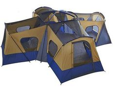 Buy NEW C&ing X Cabin Tent 14 Person Outdoor Family Ozark Trail Base at online store  sc 1 st  Pinterest : ventura cabin tent - memphite.com