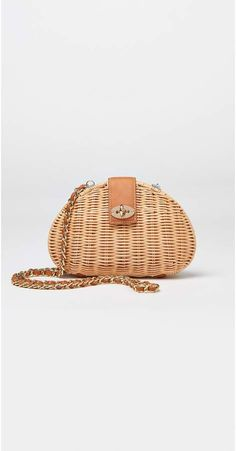 J.Mclaughlin Melody Wicker Crossbody