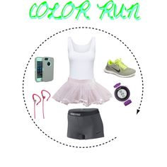 """Color run"" by drewmegan on Polyvore , like this nike free 3.0 v5, site for all nikes half off"