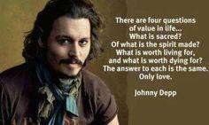 johnny depp on life