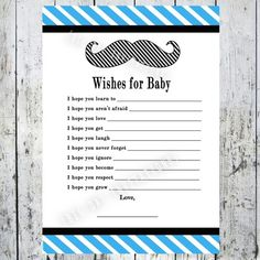 cute for a baby shower for him to read one day