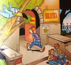 Ilustração Walt Disney.