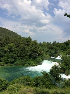 Croatia travel krka waterfalls