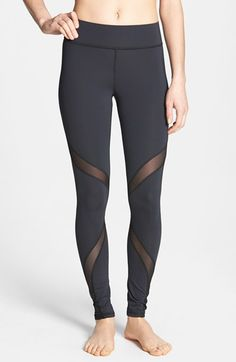 Mesh Cut-out leggings from Michi