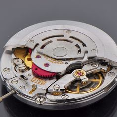Rolex Submariner Movement, Reference 3135. Photographed by Ian Brown.