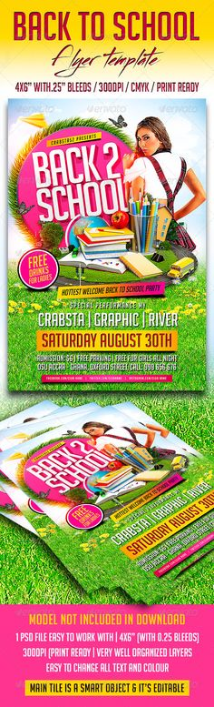 5K Run Flyer and Poster Templates Template, Psd templates and - picnic flyer template