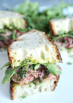 Cowboy Butter Skirt Steak Sandwiches  - Delish.com